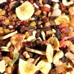 How to cut dried fruit without sticking to you and the knife
