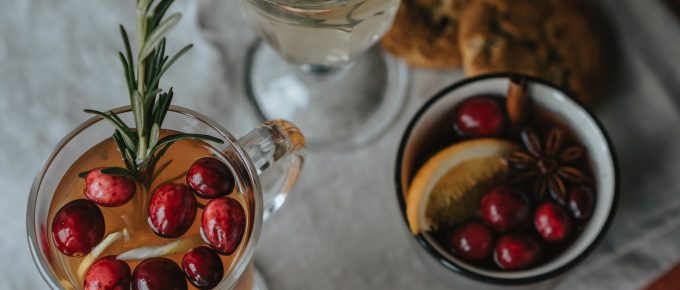 Spiced Cranberry Cider in a Jar Mix