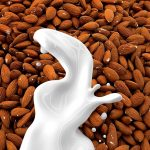 Can you freeze almond milk for later?  Here is how to do it